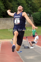 Mens decathlon, EAP International Combined Events, Hexham, Northumberland. Photo: David T. Hewitson/Sports for All Pics
